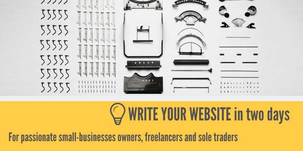 Write Your Website Workshop – Lucy Cripps